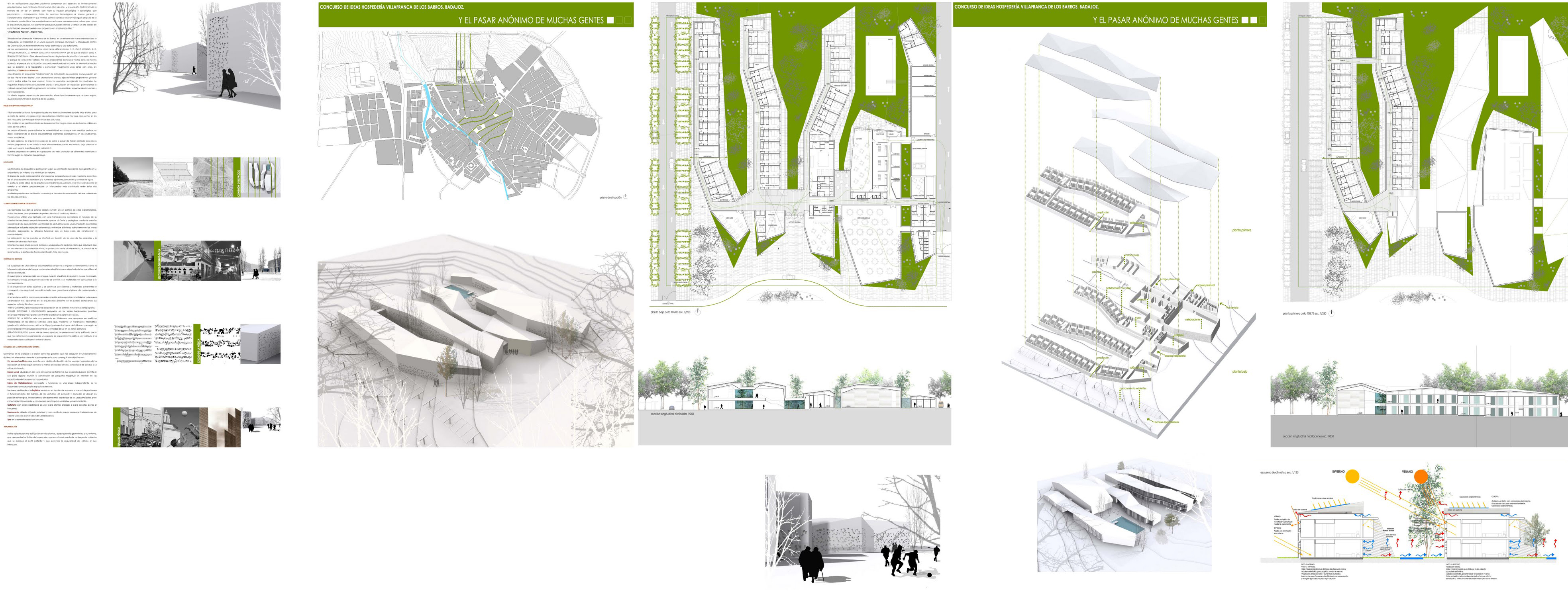 Hospeder as de turismo worksdifferent arquitectura for Arquitectura de proyectos