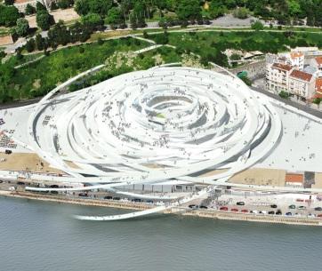 Beton Hala Waterfront Center_Belgrade_ SOU FUJIMOTO_2