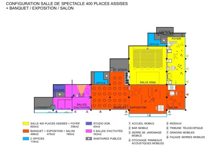 Lacaton & Vassal - Equipement polyvalent de quartier, Lille-3